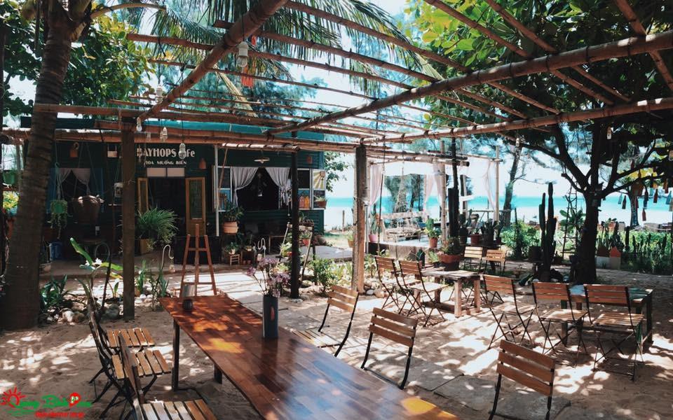 Bayhops Cafe, quán cà phê tận hưởng thiên nhiên Quảng Bình