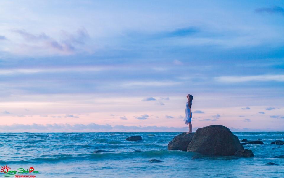 Biển Quảng Bình 1 dấu ấn cho kì nghỉ du lịch hè