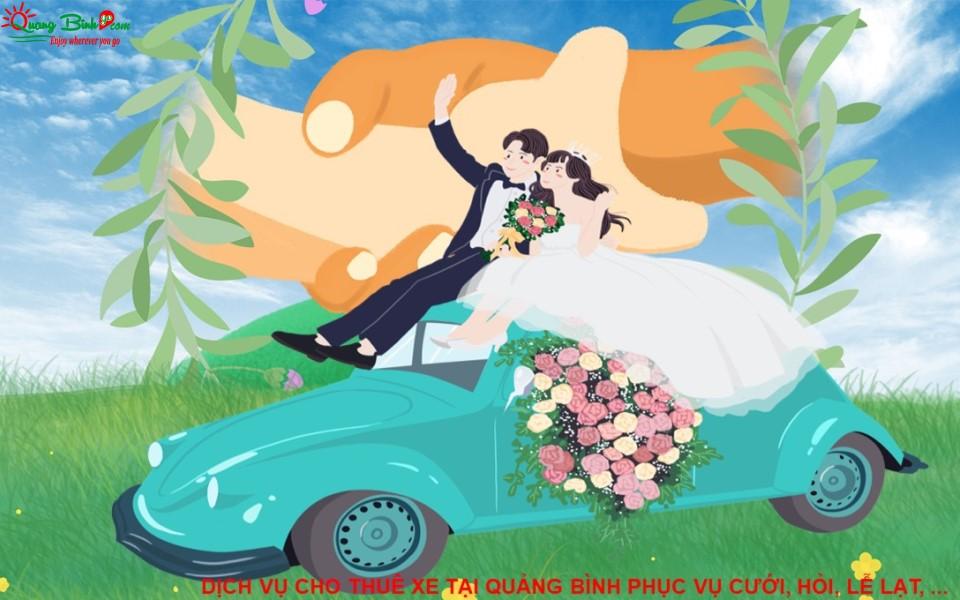 Cho thuê xe tại Quảng Bình phục vụ cưới, hỏi, lễ lạt