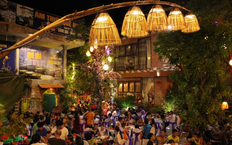 Nhà hàng Quê Nhà restaurant Đồng Hới