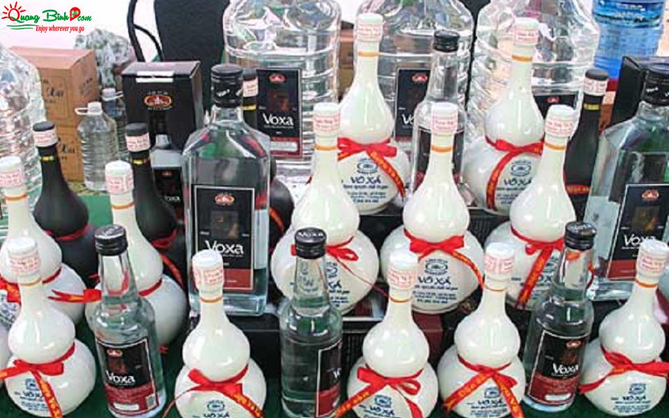 Rượu Võ Xá truyền thống, đặc sản Quảng Bình