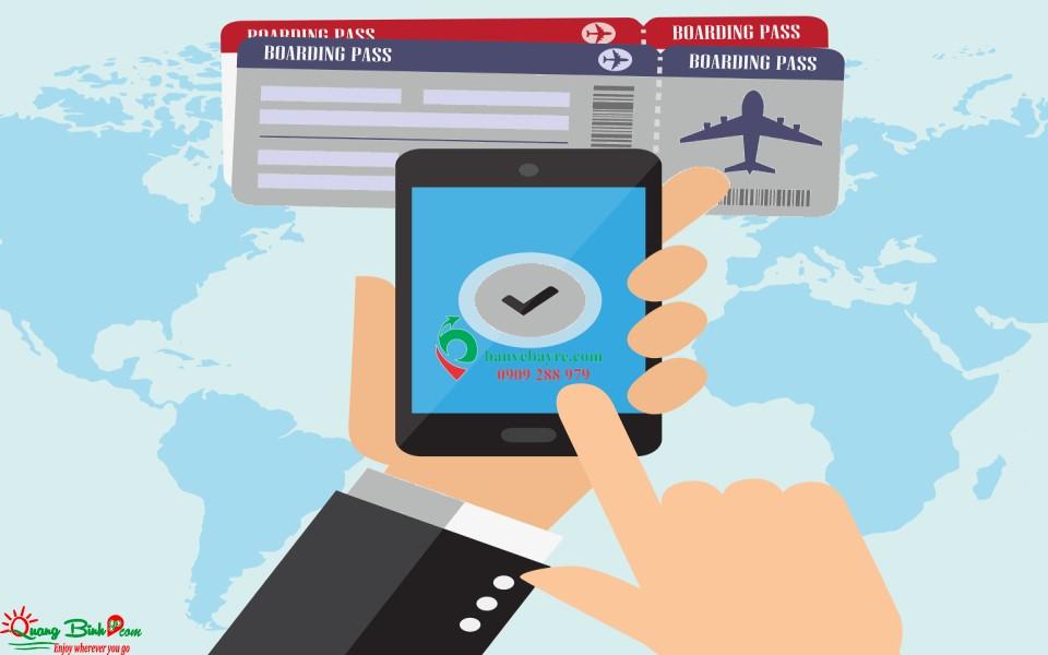 Vé bay Đồng Hới, đại lý Quảng Bình Go air ticket