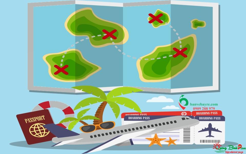 Vé bay muôn nơi, đại lý Quảng Bình Go air ticket