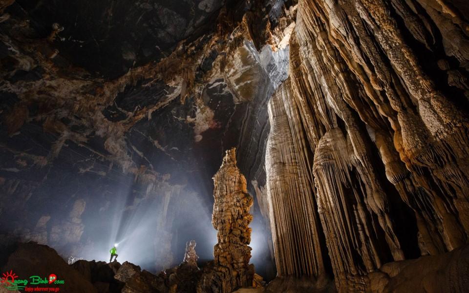 Hang Tiên 2 cave Phong Nha - Kẻ Bàng tourism