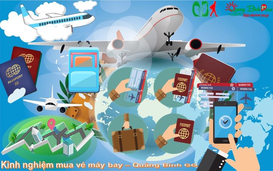 Kinh nghiệm mua vé máy bay - Quảng Bình GO