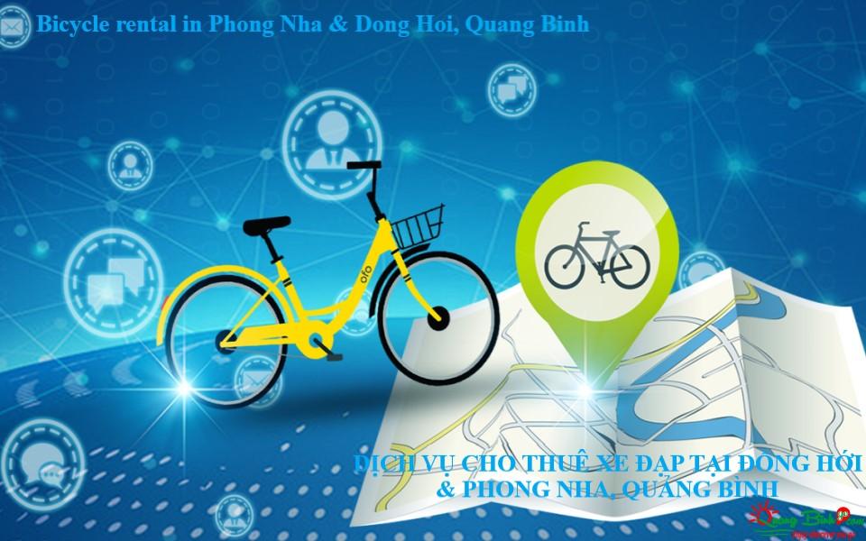Thuê xe đạp tại Quảng Bình bicycle rental