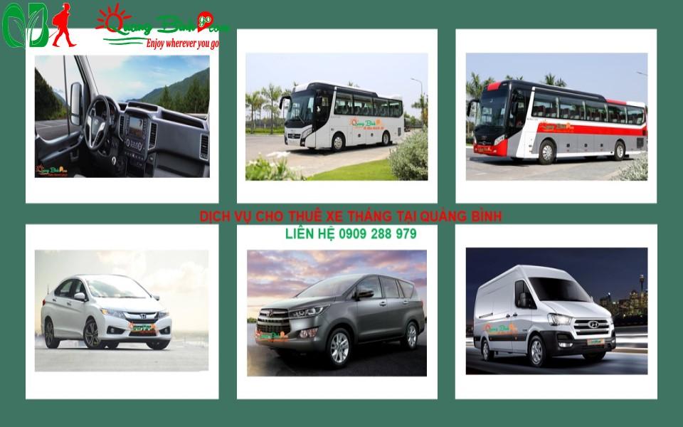 Thuê xe tháng tại Quảng Bình, car rental by month