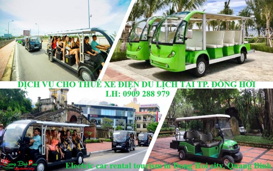 Cho thuê xe điện tại Đồng Hới, electric car rental travel