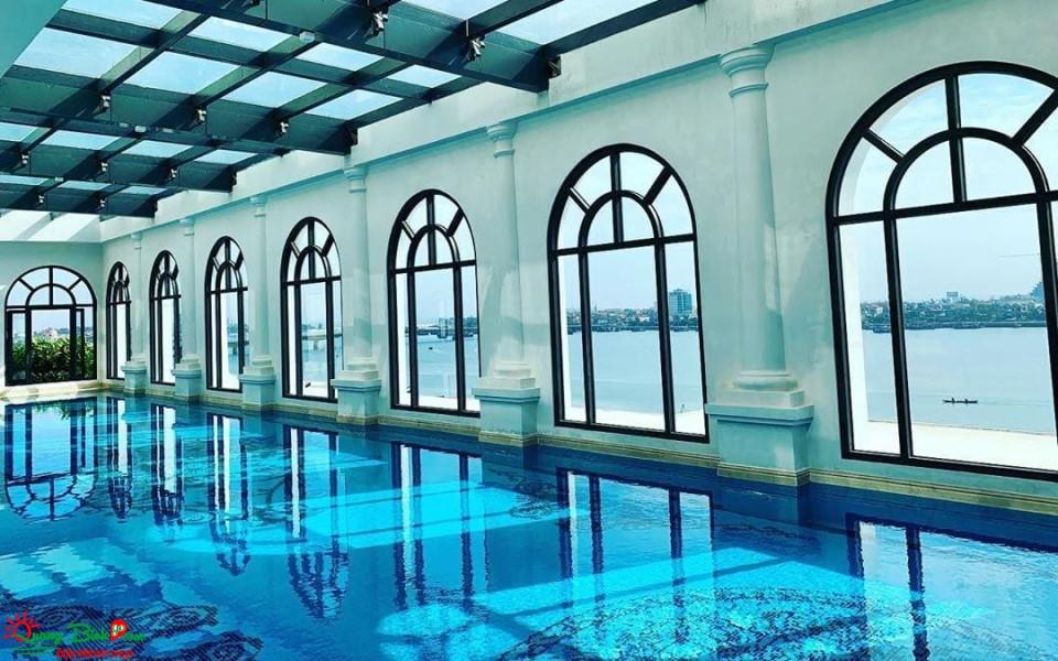 Khách sạn Vinpearl Quảng Bình hotel 5 sao, hồ bơi