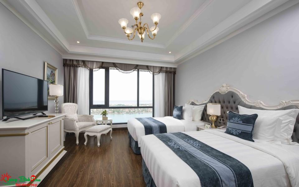 Khách sạn Vinpearl Quảng Bình, phòng deluxe