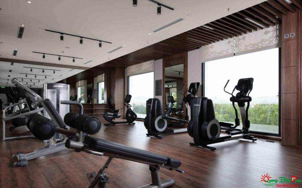 Khách sạn Vinpearl Quảng Bình, phòng Gym